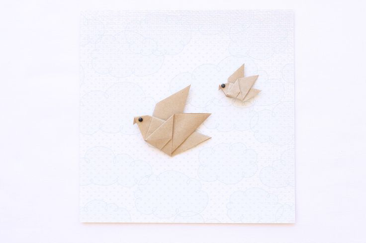 Origami birds — Bubba&Beyond