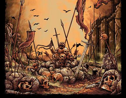"""Check out new work on my @Behance portfolio: """"dead of war"""" http://be.net/gallery/44502169/dead-of-war"""