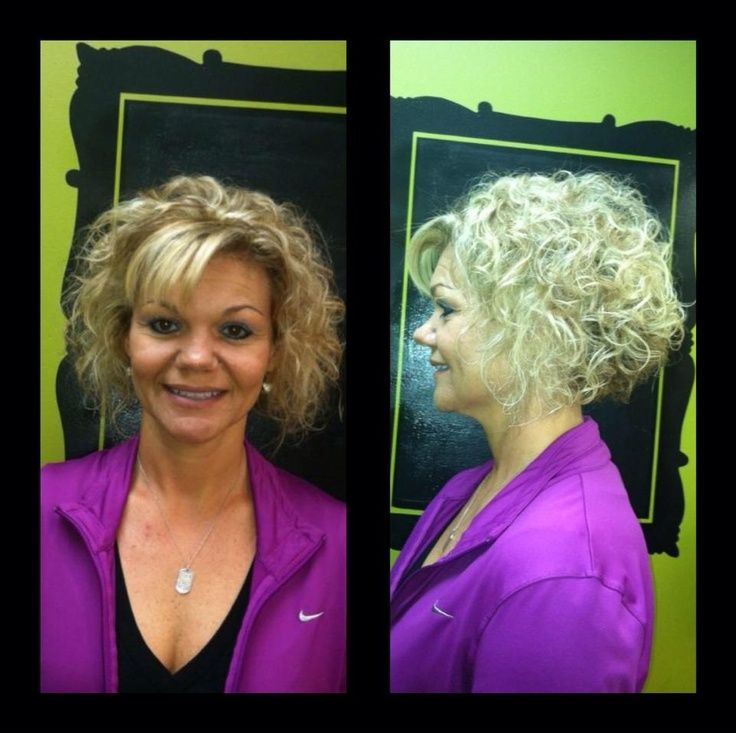 short stacked bob curly hair no bangs curly hair pinterest short stacked wavy bob hairstyles 736x733