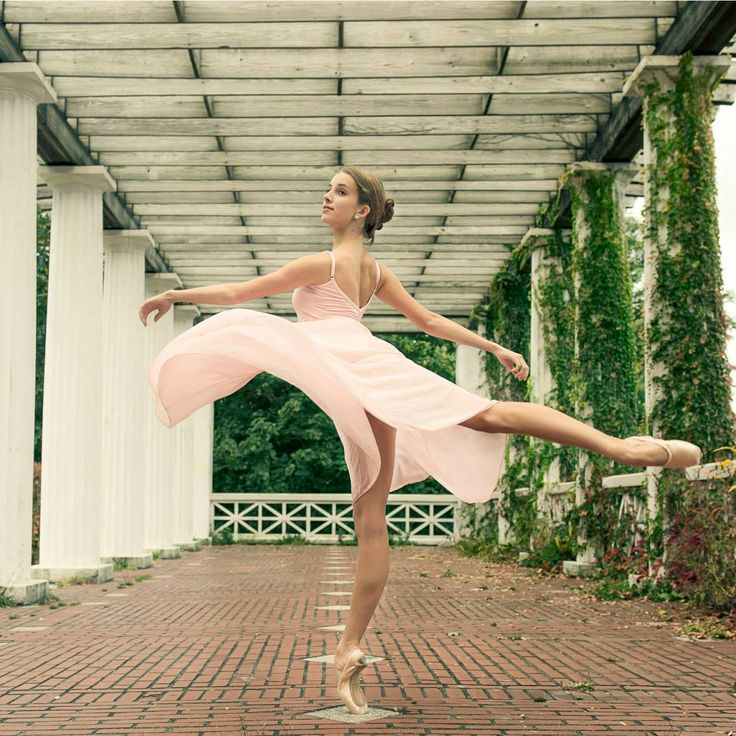 Melissa Chapski photographed by Luis Pons In Capezio Pointe shoes and Camisole Empire Dress.