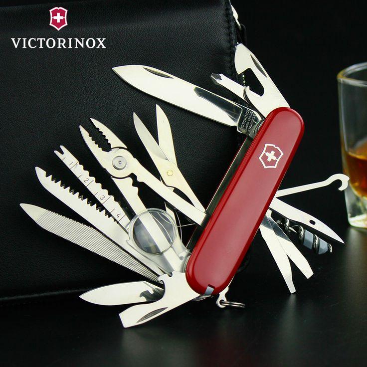 Genuine authentic Swiss Army knife Swiss Army knife 1.6795 Swiss Army knife 91MM outdoor multi-purpose knife - BUY IT MAO