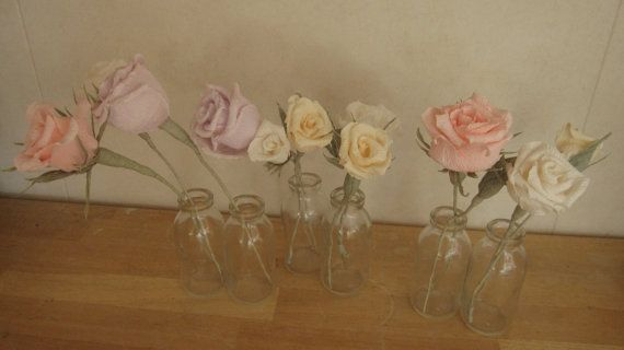 Table decorations Wedding Decorations by moniaflowers on Etsy