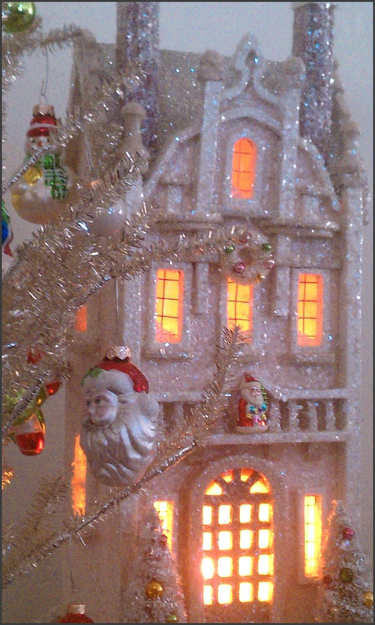 Victorian Christmas House Kit  http://www.shopswoonwithdebhodge.blogspot.com