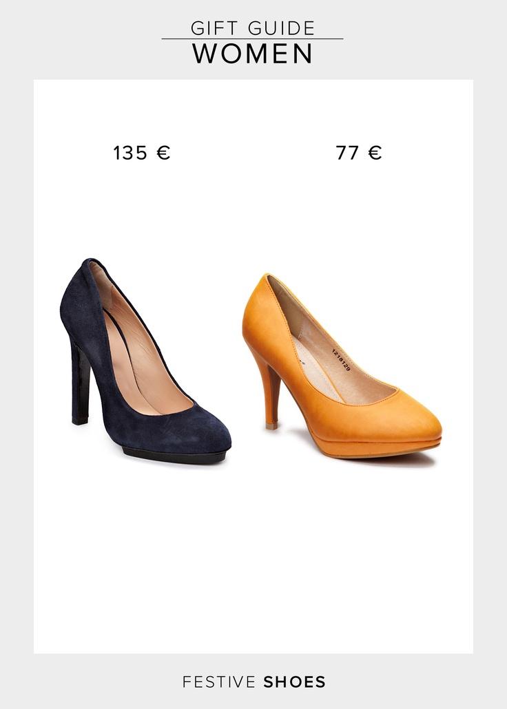 Shoe Shi Bar Carina Heels  134.95 €  http://www.boozt.com/r/shoe-shi-bar/carina_933241/933248    Friis & Company Chastine Heels  76.95 €  http://www.boozt.com/r/friis-company/chastine_700540/700565