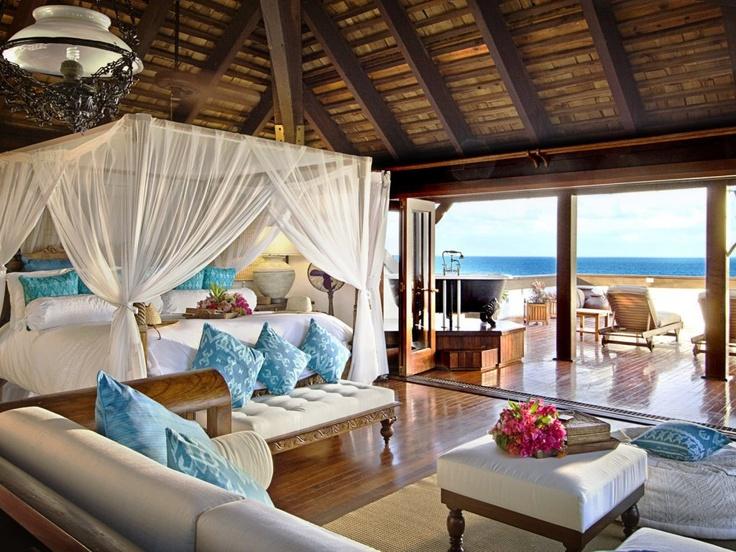 hotel-luxurious-bedroom: Dreams Bedrooms, Beaches House, Beaches Rooms, Beaches Home, The Ocean, Dreams House, Master Bedrooms, Canopies Beds, Beaches Bedrooms