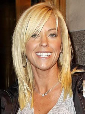 feathered hairstyles for medium length hair | ... haircut of kate gosselin attractive hairstyle of kate gosselin actress