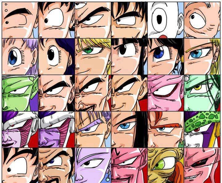 Dragon Ball Faces