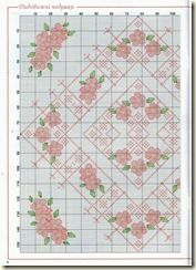 2 - ❁◕ ‿ ◕❁  Almofadas em  Ponto Cruz com Flores -  /    ❁◕ ‿ ◕❁ Cushions Pad in  on, at, into, to, with under upon up Cross Stitch Graphic Diagram Chart Graph with Flower -  -