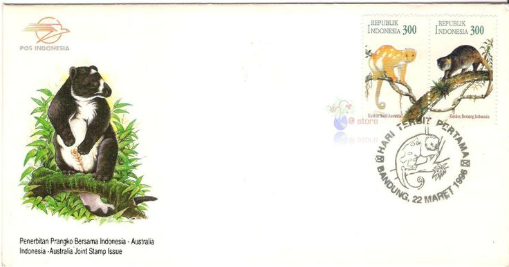 1996 Joint stamp issue Indonesia Australia