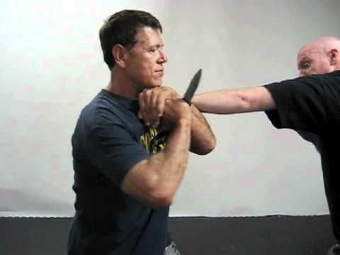 "Moni Aizik Teaches ""The Wiz"" Weapon Disarm. Martial arts, combat tactics and self defense"