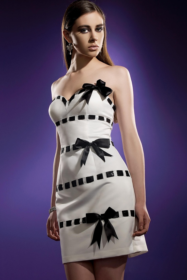 best 25 black and white evening dresses ideas on