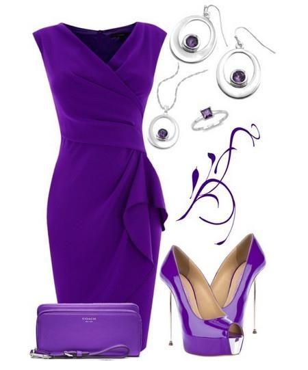 Фиолетовое платье купить