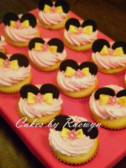 MInnie Mouse Cupcake Tray