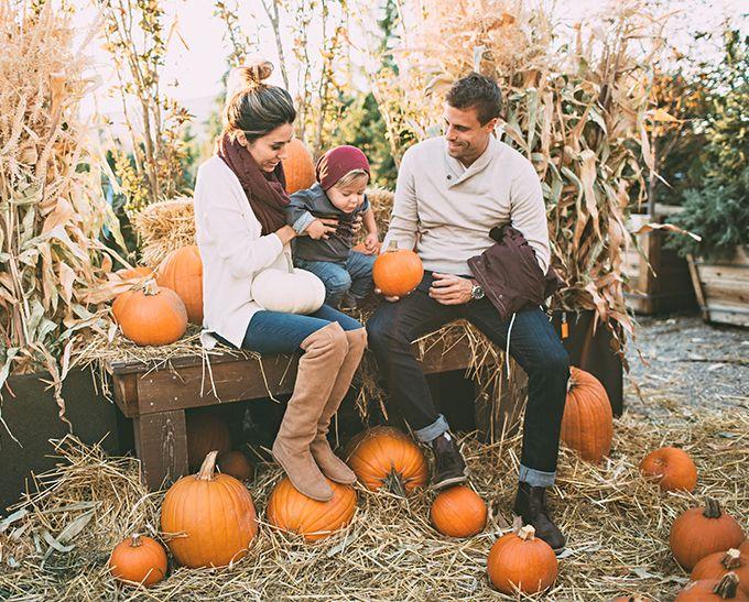 family pumpkin patch hello fashion blog