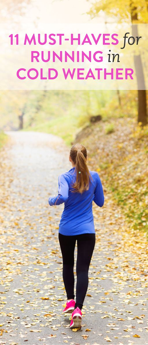11 must-haves for running in cold weather