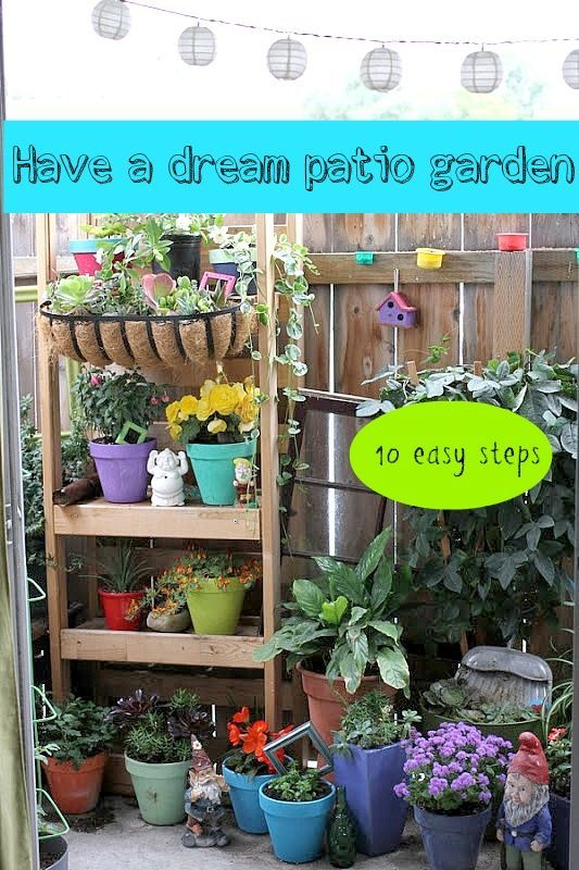 Top 10 Ways To Create A Beautiful Apartment Garden Recycled Vintage Decor For Peaceful Patio
