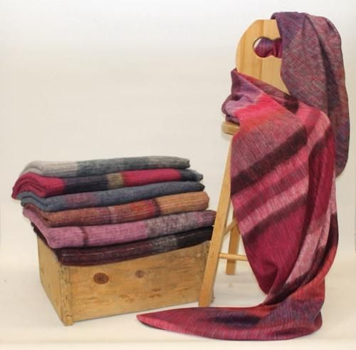 These wonderfully soft Alpaca and wool blankets are great for cold Canadian winters and cool summer evenings. Fair Trade - Made in EcuadorEach one is unique in