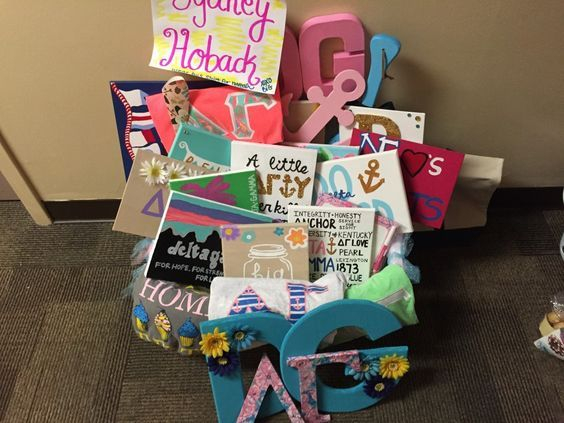 Total Sorority Move | What Should I Put In My Sorority Big/Little Basket?