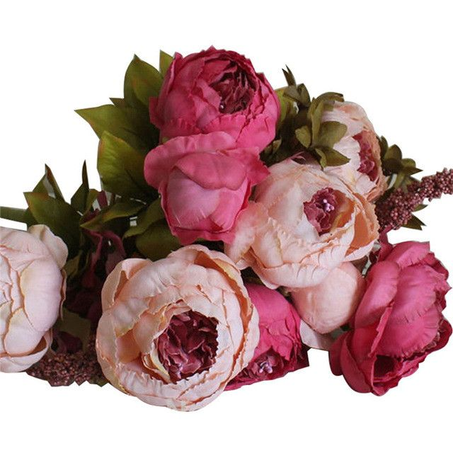European Style Artificial Peony Flowers