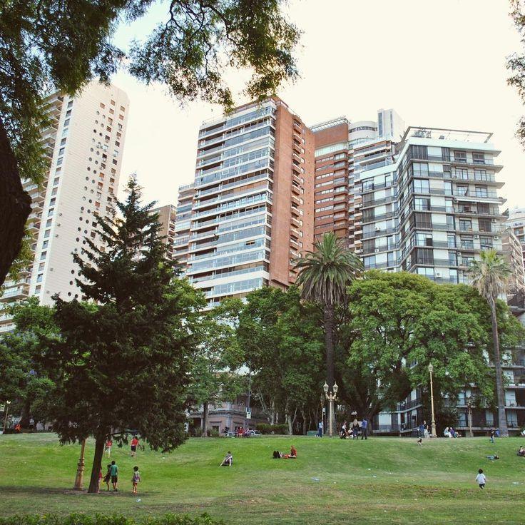 Una tarde en la Plaza Barrancas de Belgrano  #plaza #verde #verano #tarde #febrero #buenosaires #belgrano #barrancas #mirandabosch