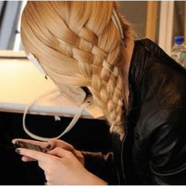 How To Do A Basket Weave Updo : Best ideas about basket braid on