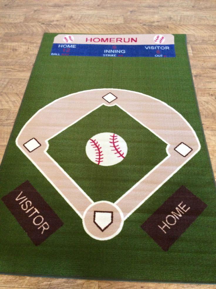 Baseball field carpet