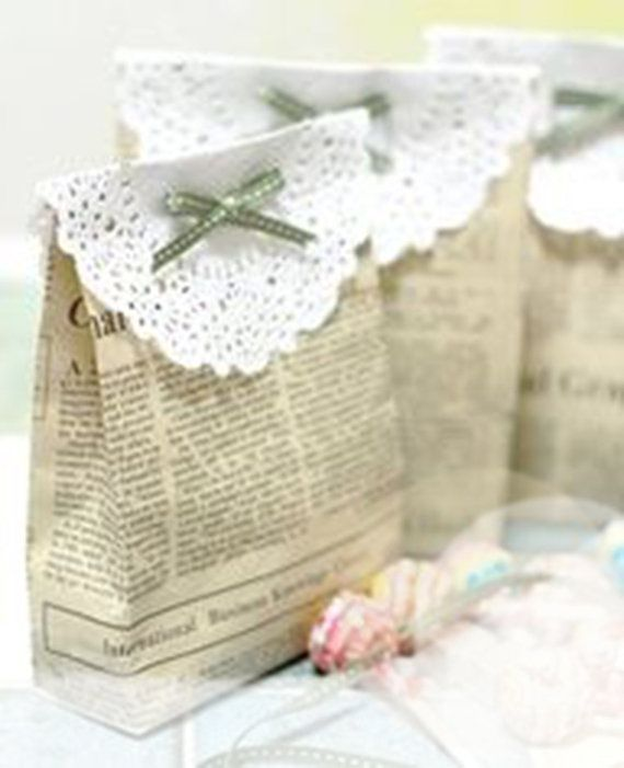 How to Make Lace Envelopes | 100 Lace Doilies . . . and how-to's for DIY DOILY PROJECTS ...