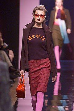 Balmain Fall 2000 Ready-to-Wear Fashion Show - Oscar de la Renta, Aurélie Claudel