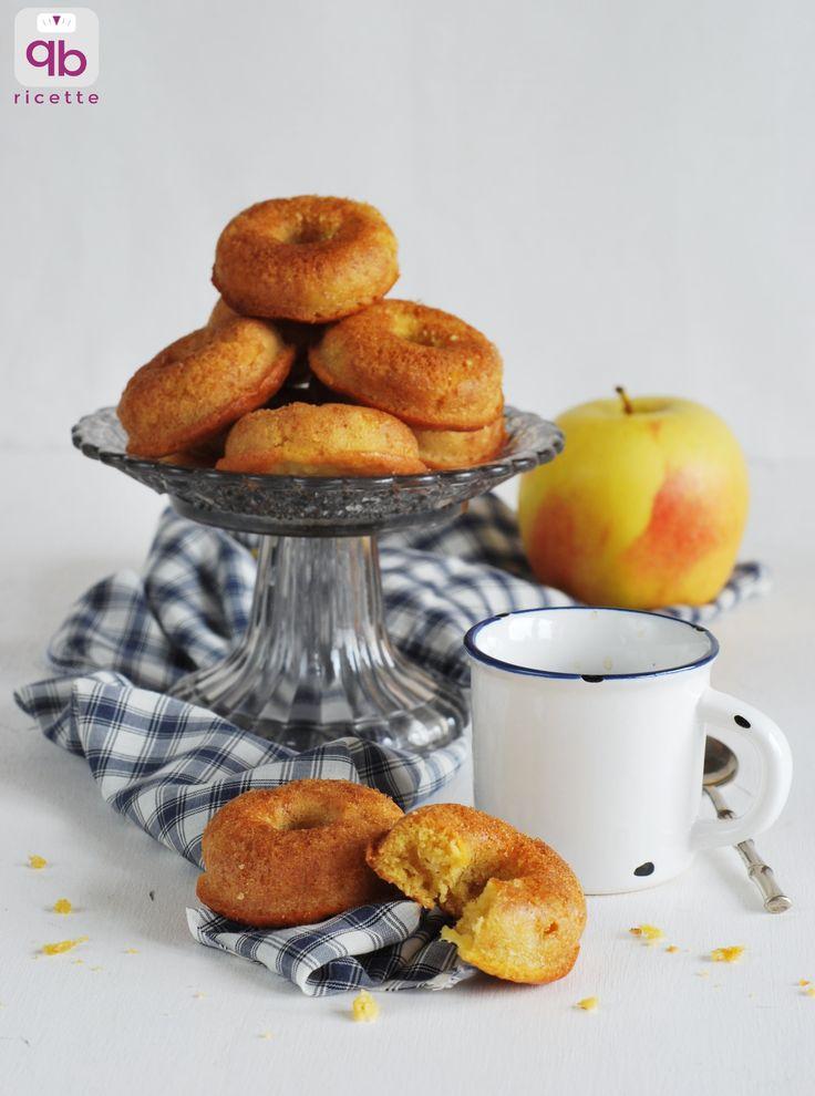 Ciambelline con mele e cannella | QB Ricette