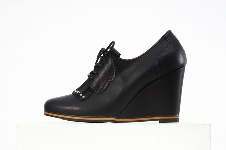 #wedge shoes #oxford wedge