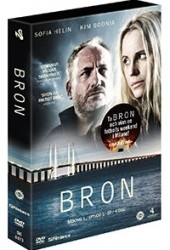 Recension av Bron. En tv-serie med Kim Bodnia och Sofia Helin.