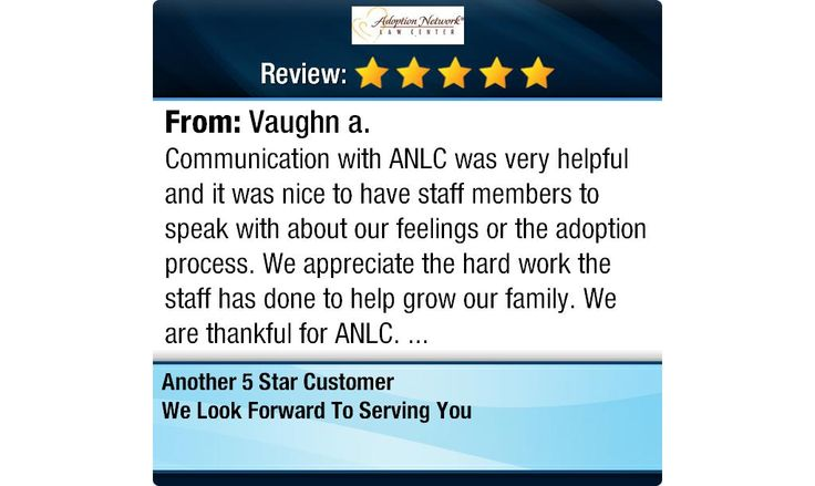 Communication with ANLC was very helpful and it was nice to have staff members to speak...