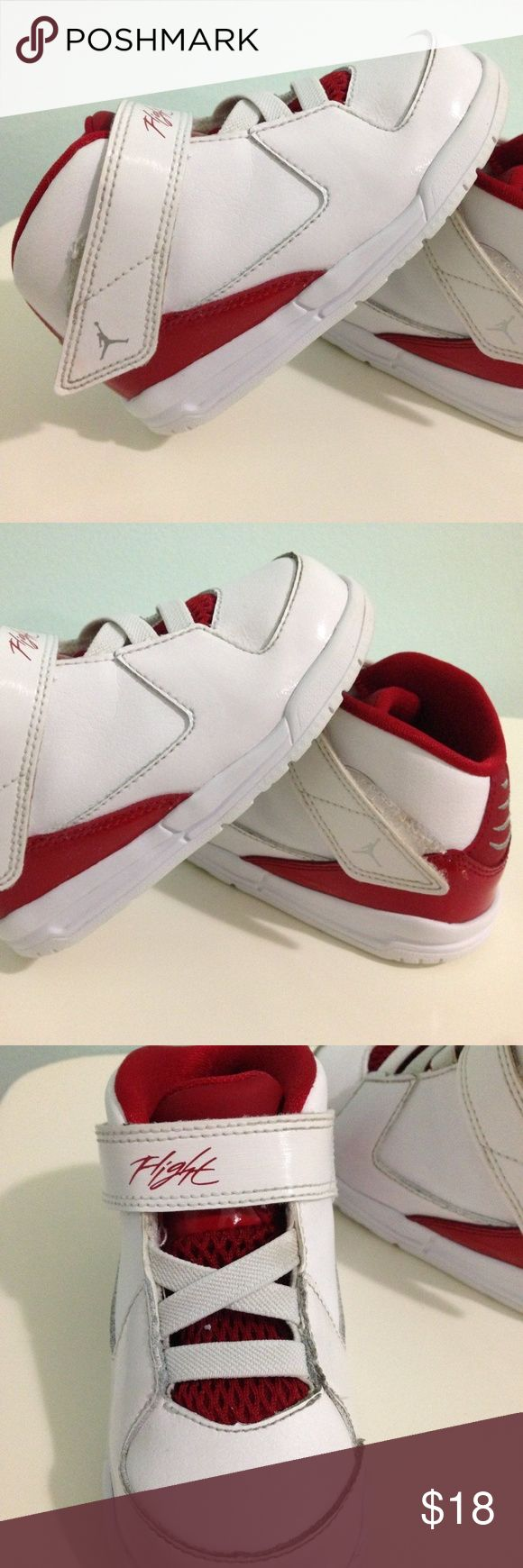 NIKE SIZE 7C AIR JORDAN FLIGHT BASKETBALL SNEAKERS EUC NIKE SIZE 7 C AIR JORDAN FLIGHT 705893-102 TODDLER BASKETBALL SNEAKERS  Excellent Pre-owned Condition! No Flaws! NIKE Shoes Sneakers