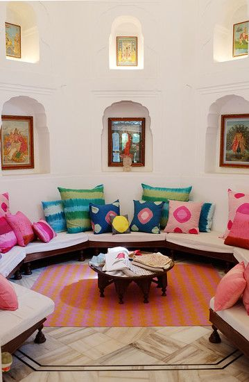 Jaipur i would LOVE a room like this in my house!!!