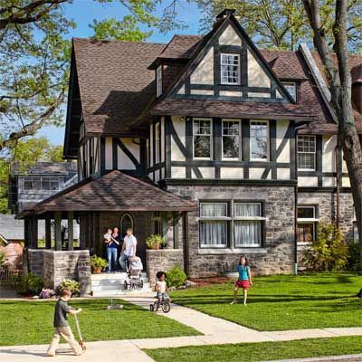 This 1895 Tudor went from eyesore to showpiece   Photo: Laura Moss   thisoldhouse.com   from Meet the Grand Prize Winners: Best Whole House Remodel 2012