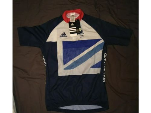 Adidas team gb #cycle #shirt london 2012 #olympics size large 38-40 inch chest,  View more on the LINK: 	http://www.zeppy.io/product/gb/2/152325061805/