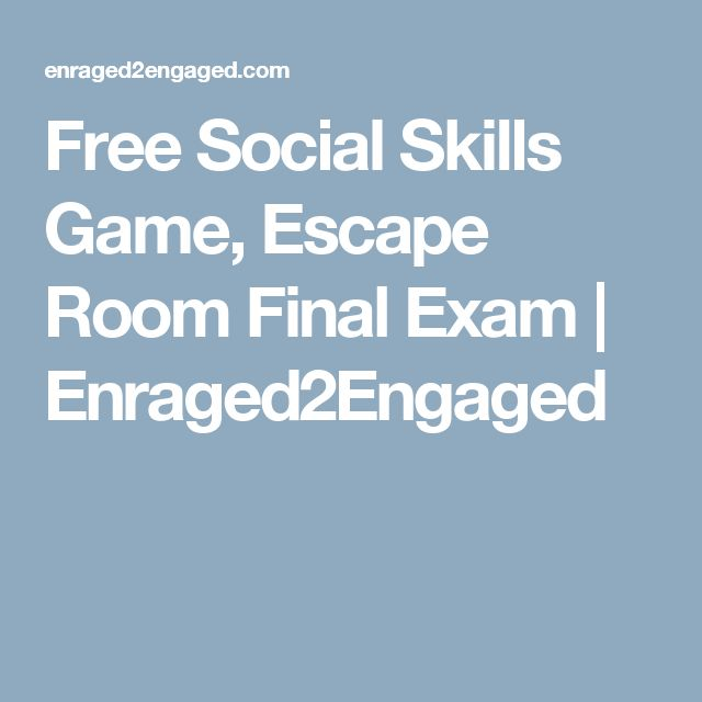Emotion Escape Room
