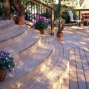 17 Images About Composite Low Maintenance Deck Ideas On