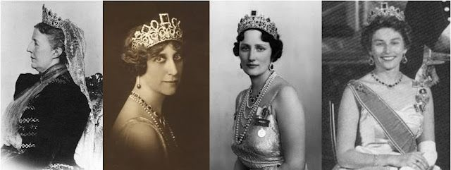 Empress Josephine Emerald Tiara Sofia Ingeborg Martha Astrid