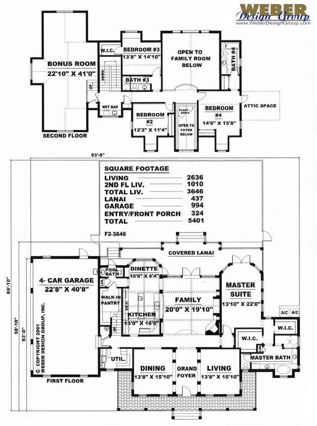 1000 images about home ideas floor plans on pinterest for Weber house plans