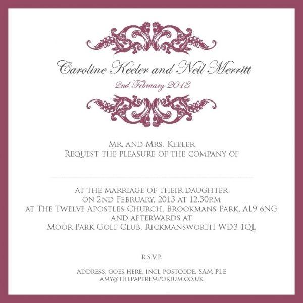 Cool 11 Traditional Wedding Invitations Wording