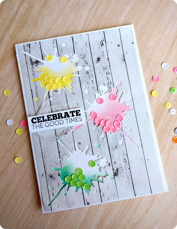 Holi Card Making Ideas Part - 24: Happily Ever Crafter: Holi Greetings