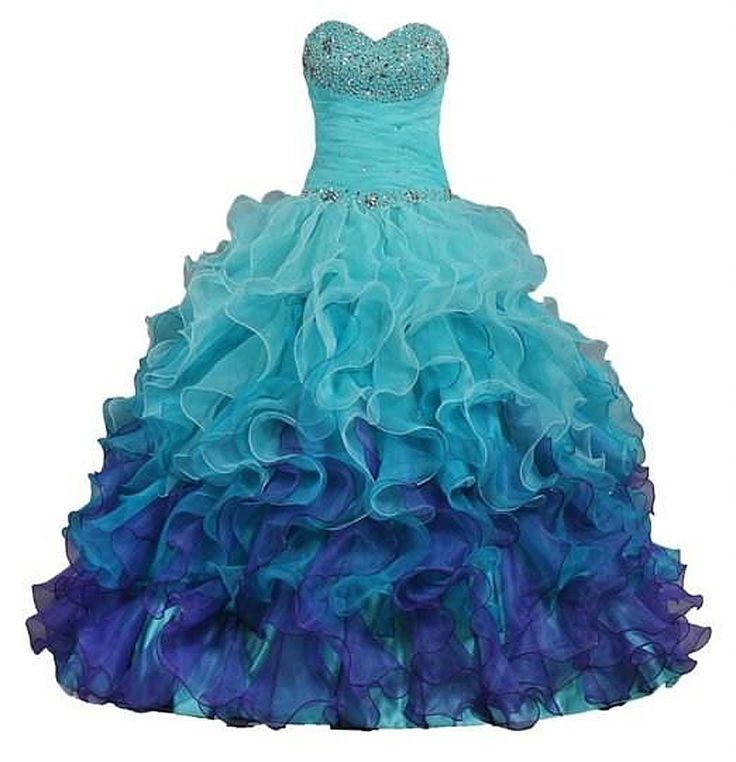 mooie baljurken voor tieners   vestidos 15 anos quinceanera 2015 gratis verzending tiener gezwollen ...