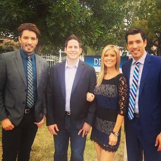 They're in With the HGTV Crew: Tarek and Christina have been guest judges on Brother vs. Brother with HGTV stars Jonathan and Drew Scott.
