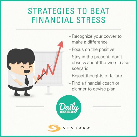 How to beat financial stress