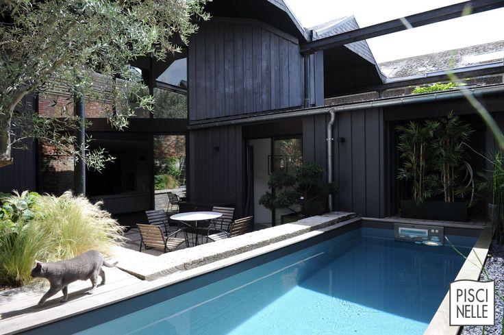 20 best reportage photo une mini piscine hors sol esth tique et conomique rouen images on. Black Bedroom Furniture Sets. Home Design Ideas