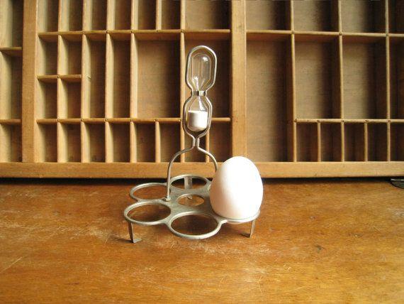 Hourglass Egg Timer Farm Kitchen Decor Or Steampunk Gadget