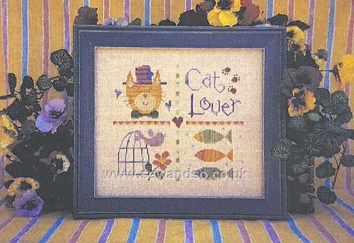 Buy Cat Lovers, Too Chartpack Online at www.sewandso.co.uk