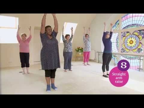 Lymphoedema Awareness - Exercise Class   Breast Cancer Haven - YouTube