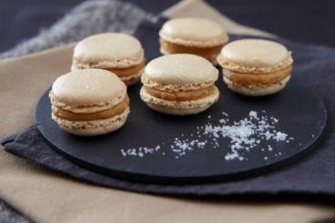 Recette de Macaron au sucre cuit au caramel demi-sel